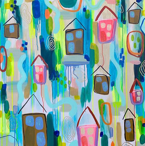 """Home"" Print"