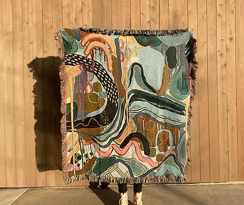 Groovy Woven Blanket