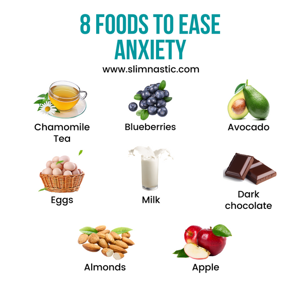 8 food to ease anxiety