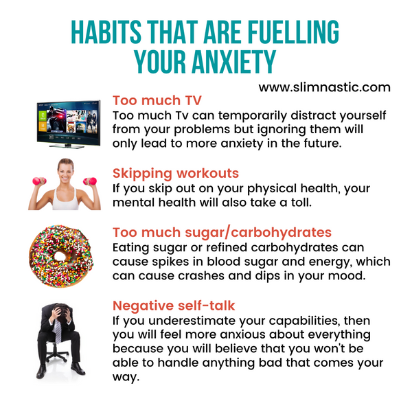 Habits that are fuelling your anxiety