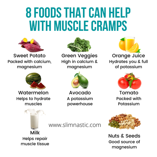 8 foods that can help with muscle cramps