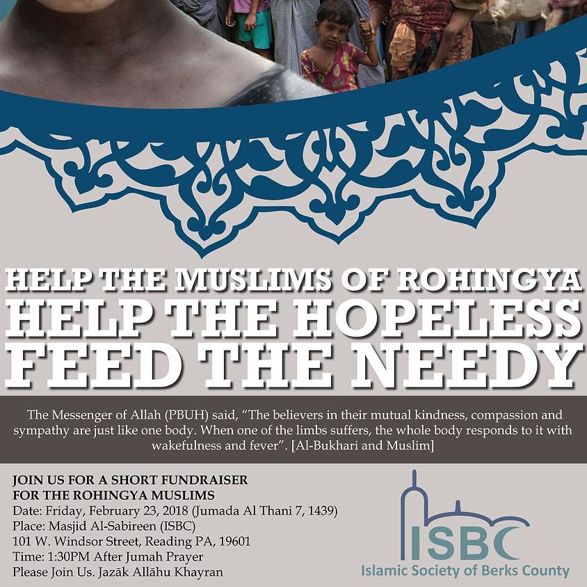 Fundraiser: Help the Muslims of Rohingya