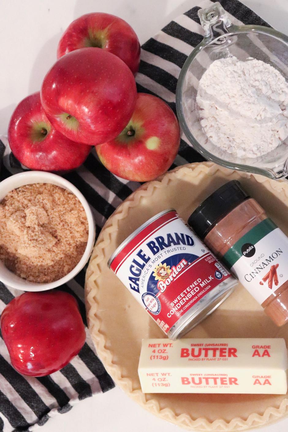 Caramel Apple Pie  -  holiday recipe
