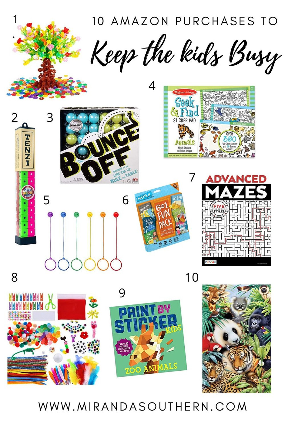 10 Amazon Purchases to Keep the Kids Busy