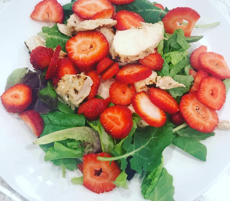 Herb and Garlic Grilled Chicken strawberry Salad.jpg