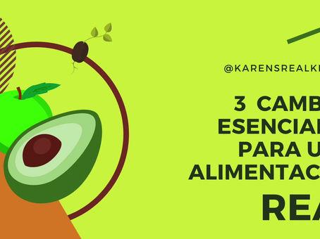 3 CAMBIOS ESENCIALES PARA UNA ALIMENTACIÓN REAL - Parte I: El Azúcar