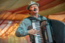 At the Denver Christkindl Market, Authentic Geman live entertainment daily