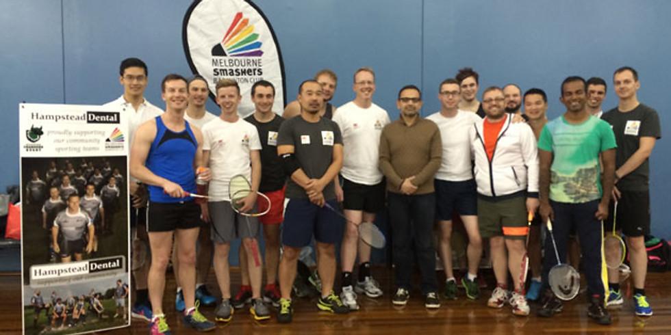 Melbourne Smashers Badminton (CSC) (18+)