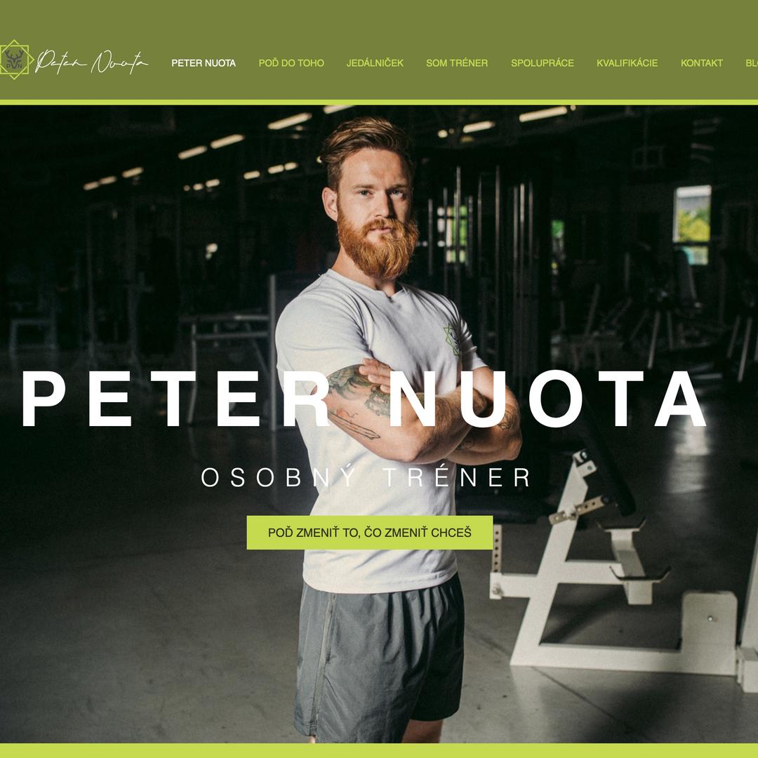 PETER NUOTA WEB www.nuotapeter.sk