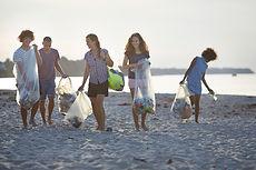 ボランティア清掃ビーチ