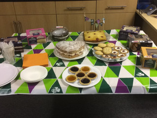 System Group Get Involved with the MacMillan Coffee Morning