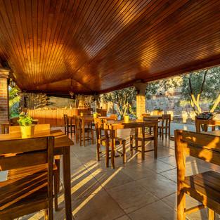 Açık restoran alanı