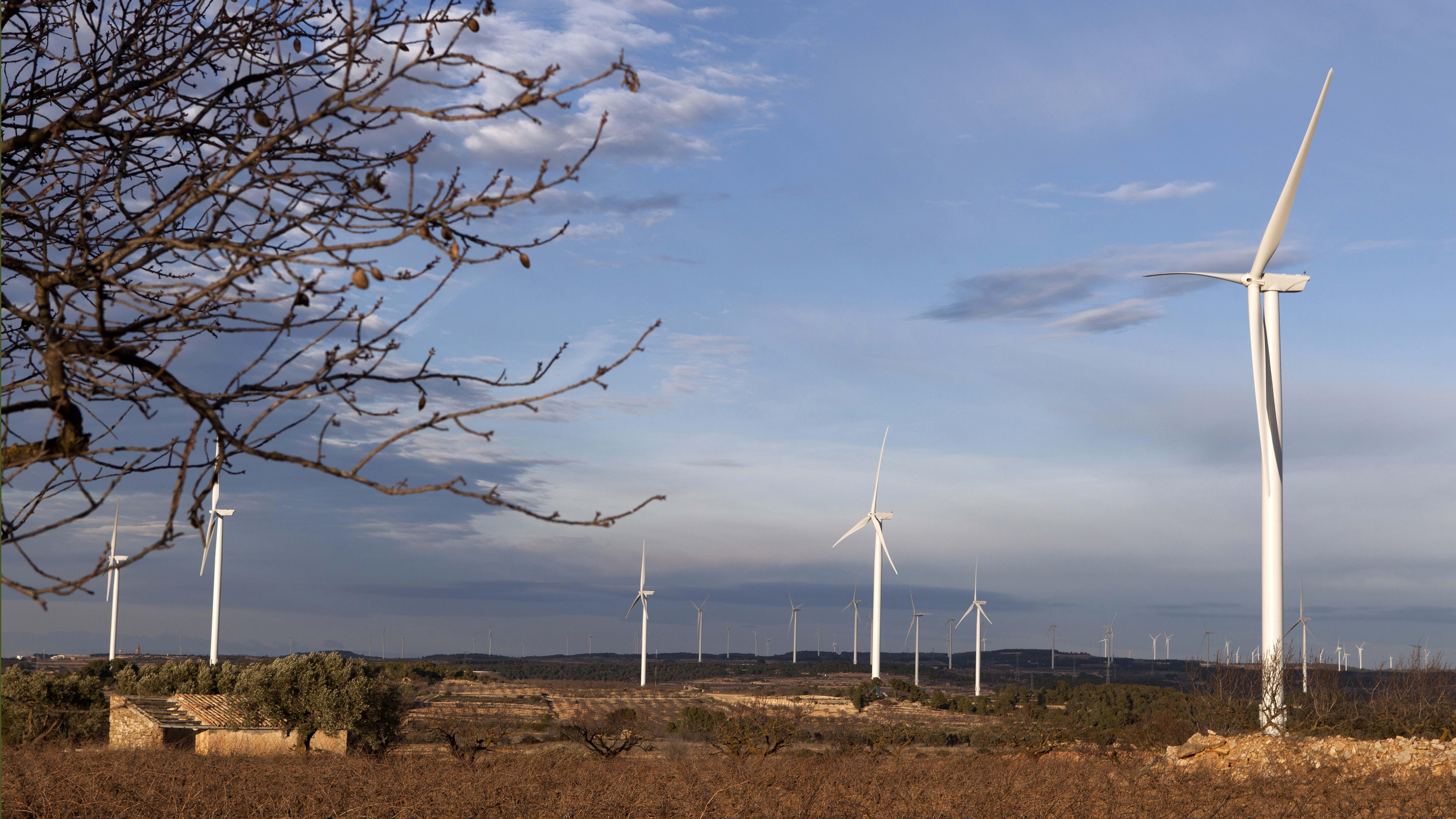 Windfarm Vilalba dels Arcs, Spain