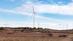 Windfarm Vilalba del Arcs, Spain