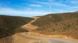 Windfarm Los Cururos Chile