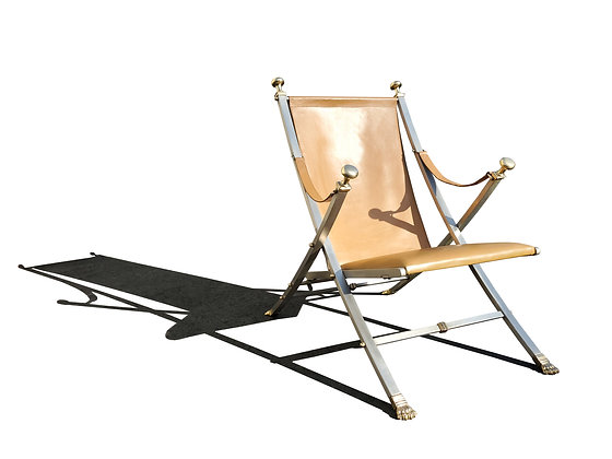 Otto Parzinger, Campaign Chair, Manufactured by Maison Jansen, circa 1960