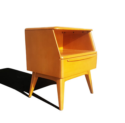 A Mid-Century Modern Heywood Wakefield Side Table - Night Stand