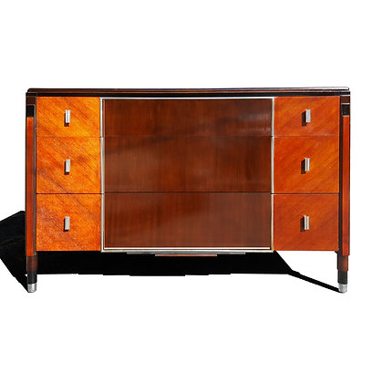 Art Deco dresser / Chest of drawers by Northern furniture company