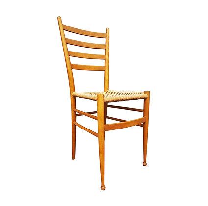 A mid century modern single Chair.