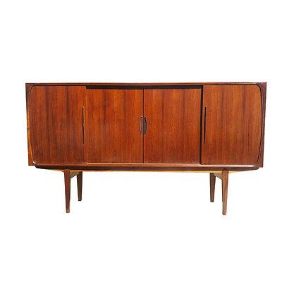 Danish mid century modern rosewood cabinet Austin Texas
