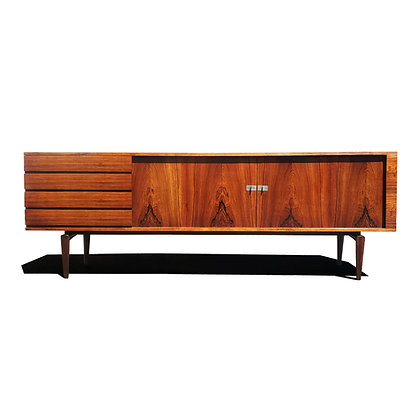A Danish Modern M. 223/3 Pamir Series Rosewood Sideboard By H.W.Klein for Bramin