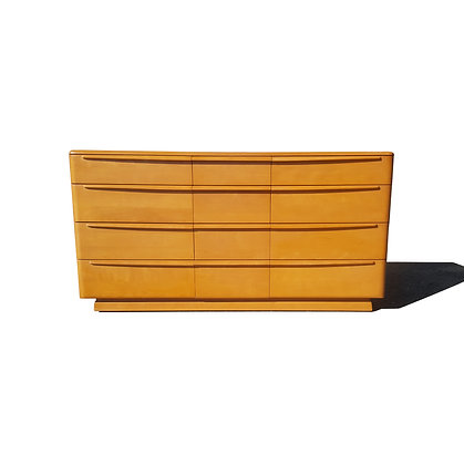 A mid century modern MCM Heywood Wakefield Dresser / Credenza / Chest of drawers