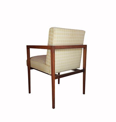 A pair of Brezilain mid-century modern 1950's armchairs