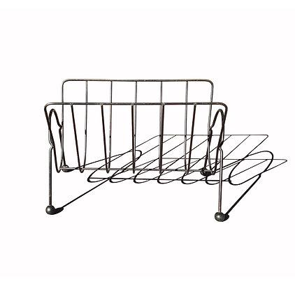 Mid century modern magazine Wire stand / rack