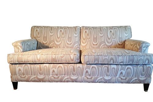 1940s Maison Jansen Style Neutral Sofa
