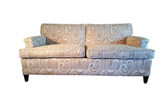 1940s Maison Jansen-Style Neutral Sofa