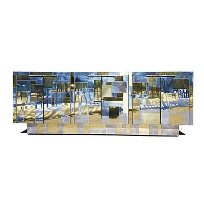 Paul Evans for Directional, 'Cityscape II' sideboard