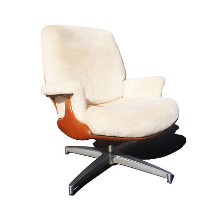 MCM Heywood Wakefield Lounge Chair by Shawn Patrick Knight