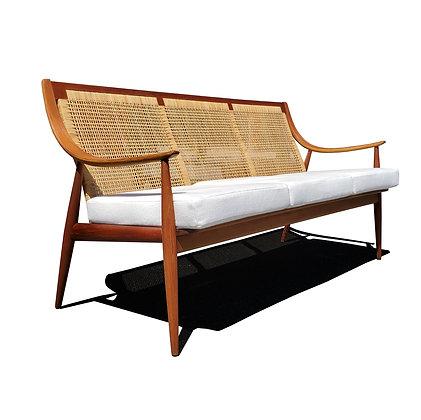 A Danish mid-century modern sofa by Peter Hvidt & Orla Mølgaard-Nielsen