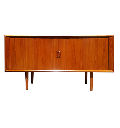 Danish mid century modern teak sideboard - Svend Aage Larsen