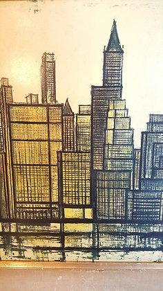 Bernard Buffet 1958 Lithography New York