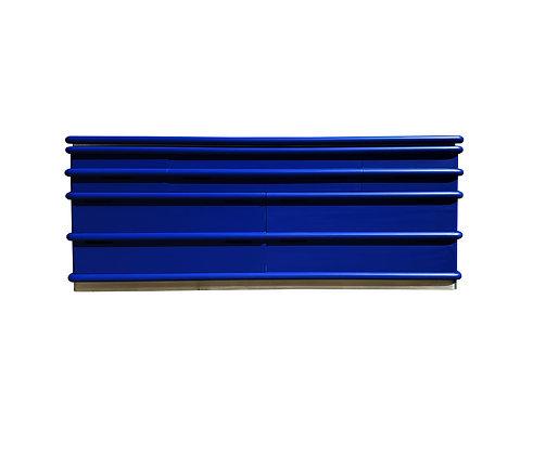 A Postmodern Blue Klein Jay Spectre dresser / credenza