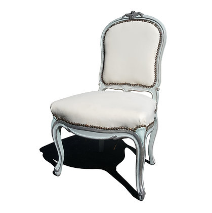 A French Provincial Louis XV Single Chair.