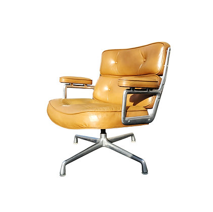 A mid-century Eames Time life lounge chair for Herman Miller