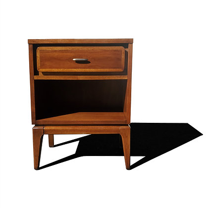 A mid-century modern Kent Coffey nightstand - side table