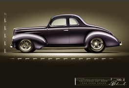 40 Ford Coupe - Devin