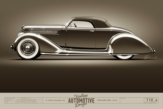 "36 Ford Roadster "" The Grande 36"""