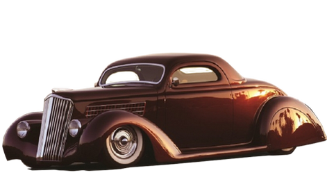 "35 Ford ""Ruby Deluxe"""