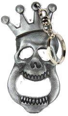 Crowned Skull Bottle Opener/Key Chain