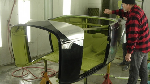 31-In-the-paint-booth-Painted-with-special-chrome-paint-to-look-like-aluminum..jpg