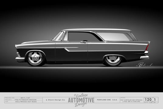 56 Plymouth Wagon - Bob