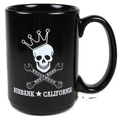Coffee Mug, black ceramic