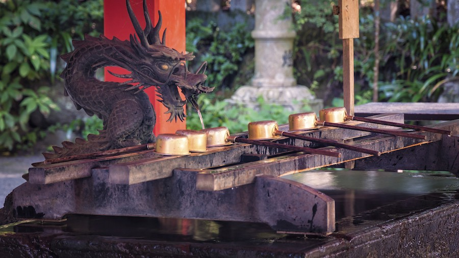 Hakone Shrine Water Dragon