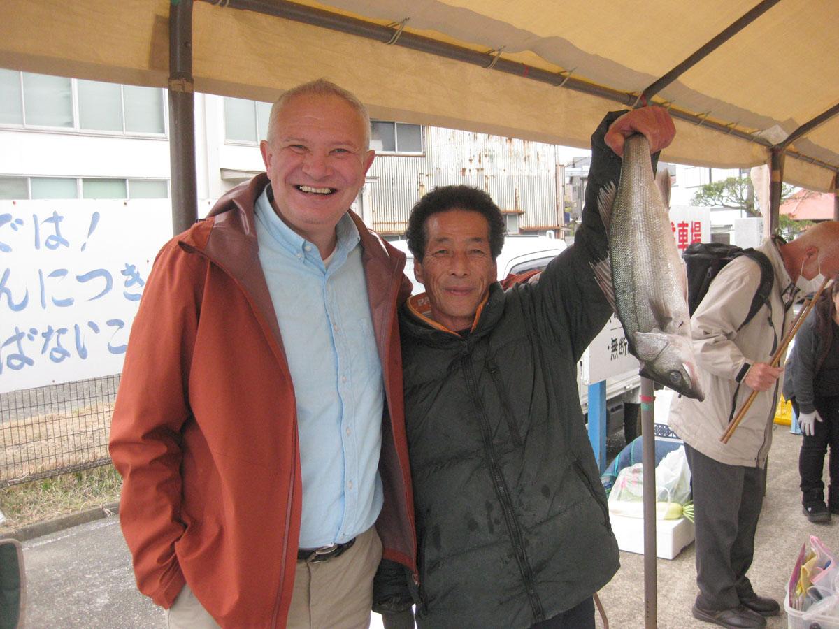 Sagami Bay Akiya Fish Market