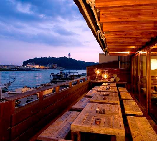 Enoshima from Eatery