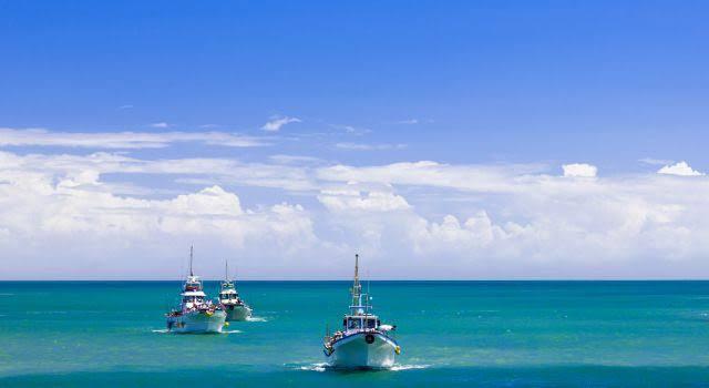 Izu Fishermen Boats